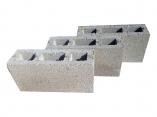 Блок 100х190х400 Серый