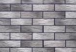 2302 Большой кирпич Бело-серый