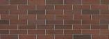 Кирпич лицевой Баварская кладка Бордо кора дуба одинарный